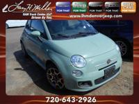 Check out this gently-used 2012 FIAT 500 we recently