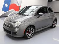 2012 Fiat 500 with 1.4L I4 Engine,Leatherette