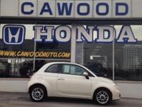 Options:  2012 Fiat 500C Pop|White|15 X 6.0 Steel