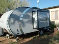 This travel trailer has never been used. I bought it