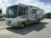 This is a 2012 Fleetwood Storm 30SA with 2 slide outs.