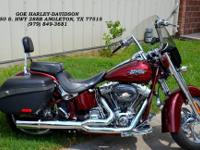 This is a used pre-owned motorcycle. Very clean and low