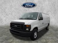 White 2012 Ford E-250 Commercial RWD 4-Speed Automatic