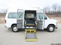 This is a very nice Ford E-350 Handicap Van.  This