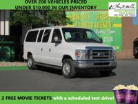 This 2012 Ford Econoline Wagon will sell fast -3rd Row