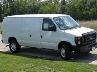 E-350 Cargo van: excellent condition, one owner,