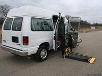 This is a 2012 Wheelchair Accessible Ford Econoline