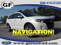 This is a 2012 Ford Certified Pre-Owned Edge SPORT AWD.