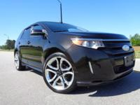 Extra clean local non smoker Ford Edge Sport with 22""