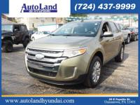 It doesn't get much better than this 2012 Ford Edge