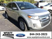 Clean CARFAX. Ingot Silver 2012 Ford Edge SE FWD