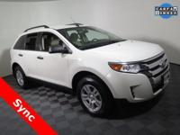 2012 Ford Edge SE with a 3.5L V6 Engine.  Cloth