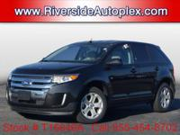 2012 Ford Edge SEL in Black, This Edge come well