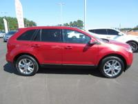 Come see this 2012 Ford Edge 4dr SEL FWD. Its Automatic