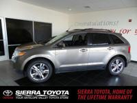 Check out this 2012 Ford Edge SEL. Its Automatic