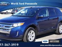 World Ford Pensacola presents this 2012 FORD EDGE 4DR