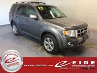 This 2012 Ford Escape Limited is Sterling Gray exterior