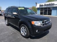 Black 2012 Ford Escape XLT FWD 6-Speed Automatic
