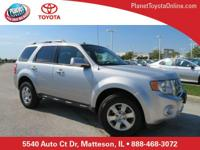 2012 Ford Escape Limited Silver AWD, ** LEATHER