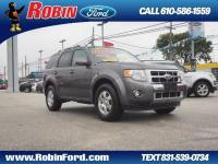 This Sterling Gray Metallic 2012 Ford Escape Limited