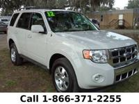 2012 Ford Escape Limited Features: Warranty - Keyless