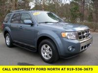 2012 Ford Escape Limited Steel Blue Metallic Duratec