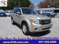 CLEAN VEHICLE HISTORY!! 2012 Ford Escape XLS, 4D Sport