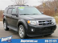 AWD. Clean CARFAX. Black 2012 Ford Escape XLT AWD