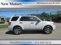 Safe and reliable, this Used 2012 Ford Escape XLT packs