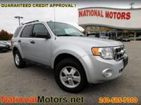 THIS FORD ESCAPE XLT 4 WHEEL DRIVE COMES WITH A