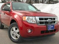 2012 Ford Escape, Toreador Red, One Owner, Accident
