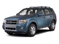 2012 Ford Escape XLT Clean CARFAX. SIRIUS, SYNC,
