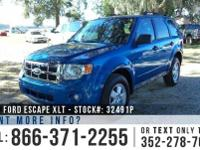 2012 Ford Escape XLT Features: Warranty - Keyless Entry