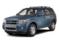 CLEAN CARFAX. Escape XLT, 4D Sport Utility, Duratec