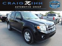 LOW MILES, This 2012 Ford Escape XLT will sell fast