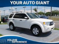 Sturdy and dependable, this Used 2012 Ford Escape XLT