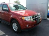2012 Escape Ford XLT Ruby Red Metallic Heated Front