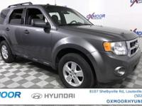 New Price! Ford Escape XLT CARFAX One-Owner. 6-Speed