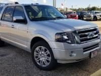 Ingot Silver Metallic 2012 Ford Expedition EL Limited