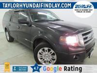 2012 Black Ford Expedition EL Limited    4WD.  Awards: