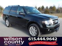 2012 Ford Expedition Limited 5.4L V8 SOHC 24V FFV Black