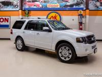 2012 Ford Expedition Limited  White Platninum Metallic