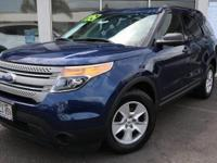 Dark Pearl Blue Metallic 2012 Ford Explorer FWD 6-Speed