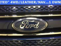Blue 2012 Ford Explorer Limited AWD 6-Speed Automatic
