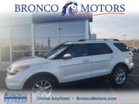 White 2012 Ford Explorer Limited AWD 6-Speed Automatic