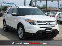 Options:  2012 Ford Explorer Limited|White/|V6 3.5L