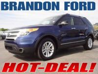 Plenty of room in this 2012 Explorer XLT - third row -