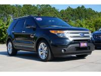 Cruising in this 2012 Ford Explorer XLT is better than
