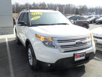 White Suede 2012 Ford Explorer XLT AWD 6-Speed