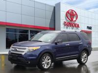 Blue 2012 Ford Explorer XLT AWD 6-Speed Automatic with